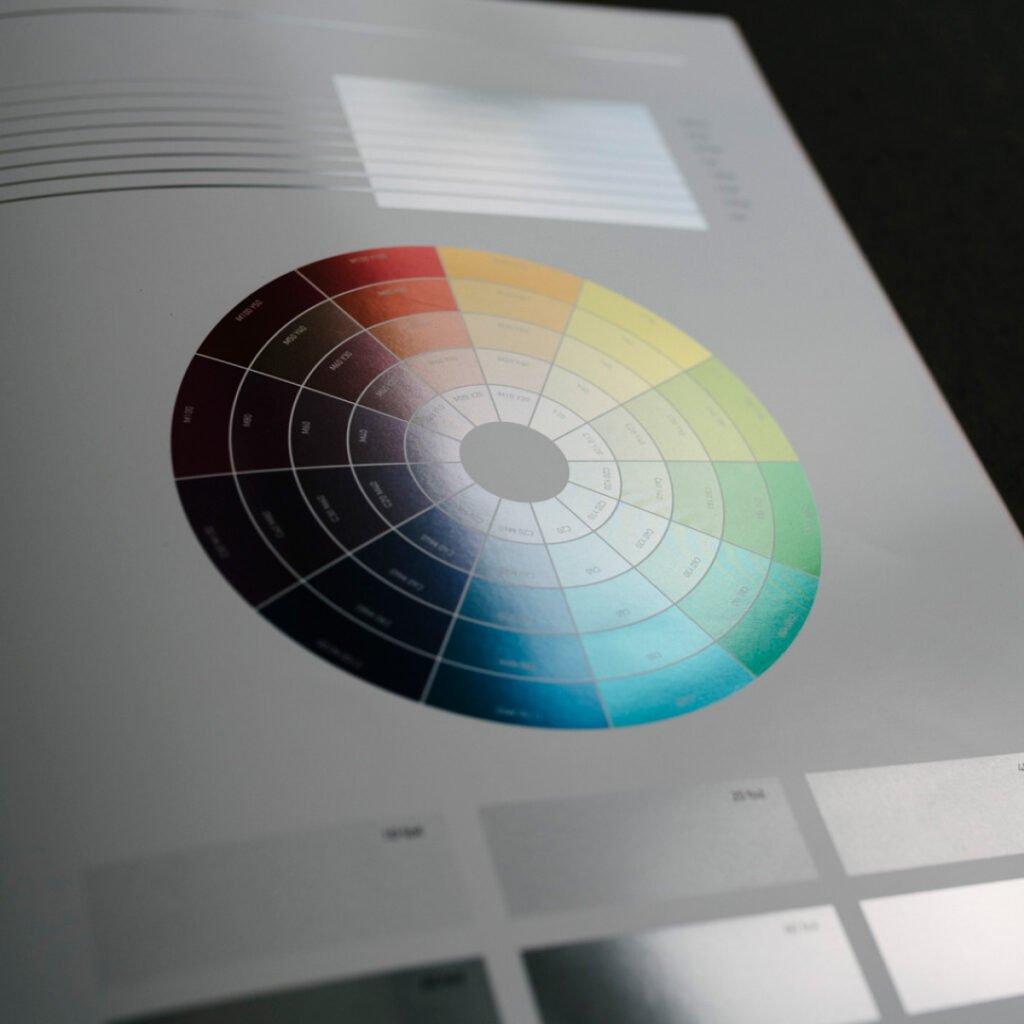Web fed print technique